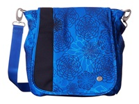 Haiku Wander Tie Dye Midnight Cross Body Handbags Blue
