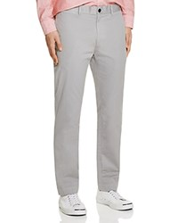 Billy Reid Leonard Slim Fit Chino Pants Grey