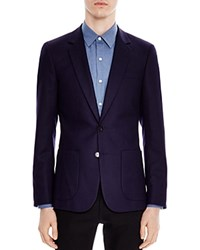 Sandro Slim Fit Blazer Black