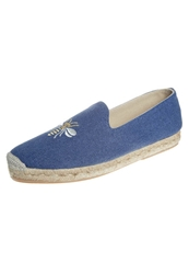 Penelope Chilvers Espadrilles Navy Blue