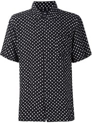 Obey Shortsleeved Print Shirt Black