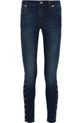 Mcq By Alexander Mcqueen Harvey Studded Skinny Jeans