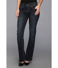 Kut From The Kloth Natalie High Rise Bootcut In Caree Caree Women's Jeans Blue