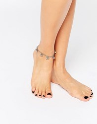Pieces Bell Anklet Silver