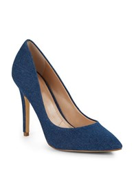 Charles By Charles David Pact Leather Stiletto Pumps Denim