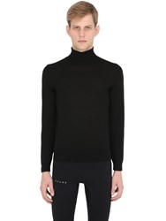 Falke Luxury Merino Extrafine Turtleneck Knit Sweater