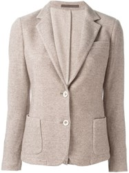 Eleventy Two Button Blazer Nude And Neutrals
