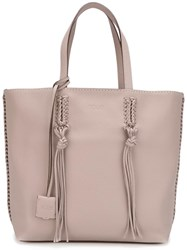 Tod's 'Gipsy' Tote Nude Neutrals