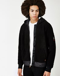 Poler Shaggy Jacket Black