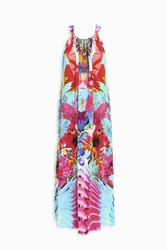 Camilla Drawstring Dress Multi