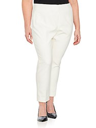 Akris Solid Ankle Length Pants Calcite