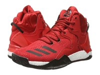 Adidas D Rose 7 Scarlet Core Black White Men's Basketball Shoes Red