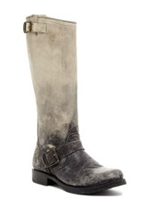 Frye Veronica Slouch Buckle Boot Brown