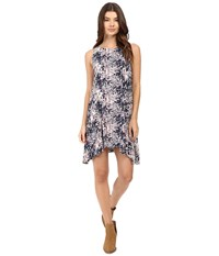 Roxy Swing Capella Dress Allo Americana Blue Print Women's Dress