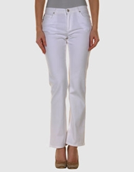 Krizia Jeans Casual Pants White