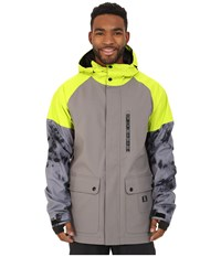 Dc Clout Snow Jacket Pewter Men's Coat