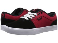Osiris Decay Red Lutzka Men's Skate Shoes Black