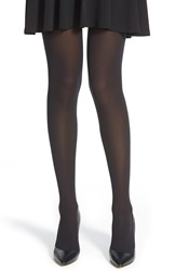 Hue 'Ultra 70D' Opaque Seamless Tights Black