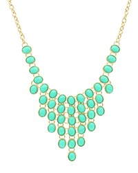 Sparkling Sage Stone Bib Statement Necklace Compare At 117 Gold Mint