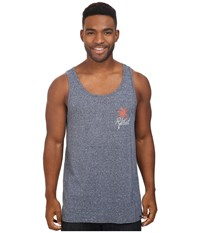 Rip Curl Hand Crafted Palm Tank Top Navy Men's Sleeveless