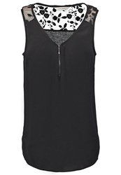 Naf Naf Top Noir Black
