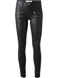 Paige 'Edgemont' Ultra Skinny Trousers Black