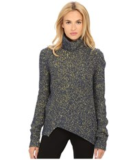 Marc By Marc Jacobs Theral Turtleneck Sweater Sulphur Multi Women's Sweater Yellow