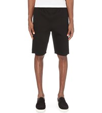Helmut Lang Tapered Neoprone Shorts Black