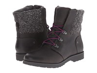 The North Face Ballard Lace Mm Paloma Grey Tnf Black Jumbo Herringbone Textile Women's Lace Up Boots Brown