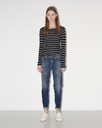 R 13 Relaxed Skinny Jeans Faded Blue