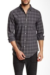 Shades Of Grey Standard Button Down Collar Shirt Gray