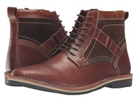 Steve Madden Hethrow Wood Men's Lace Up Boots Brown