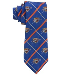Eagles Wings Oklahoma City Thunder Necktie Silver