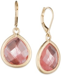 Lonna And Lilly Large Teardrop Stone Drop Earrings