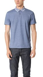 Theory Sandhurst Current Polo Shirt Cy Blue