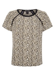 Maison Scotch Silky Printed Top Multi