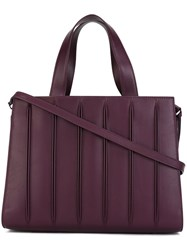 Max Mara 'Whitney' Tote Pink And Purple
