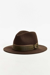 Goorin Bros. Bear Band Fedora Hat Green