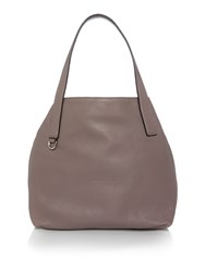 Coccinelle Mila Taupe Hobo Bag Taupe