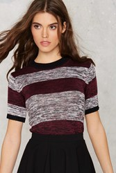 Nasty Gal All The Stripe Reasons Knit Sweater