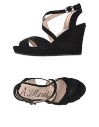 Andrea Morelli Sandals Black