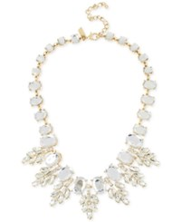 Inc International Concepts Crystal Oval Clusters Statement Necklace Only At Macy's Gold