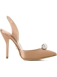 Paul Andrew 'Passion Jewel' Pumps Brown