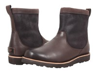 Ugg Hendren Tl Stout Leather Men's Pull On Boots Black