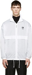 Pigalle White Wave Logo Windbreaker