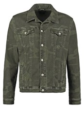 Ltb Santino Denim Jacket Peace Wash Oliv