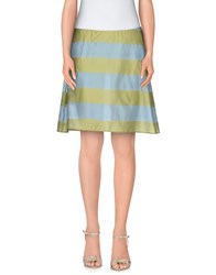 Erika Cavallini Semi Couture Erika Cavallini Semicouture Skirts Knee Length Skirts Women Blue