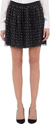 Boy By Band Of Outsiders Netted Lace Mini Skirt Black Size 0 0 Us