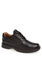 Clarks Men's 'Un Ravel' Oxford Black Leather