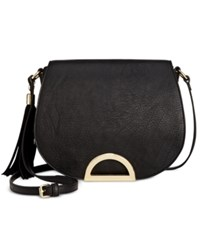 Inc International Concepts Maraa Ring Saddle Bag Only At Macy's Black